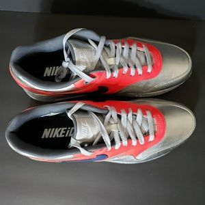check out b94e3 d9cc5 Nike Shoes - Nike Air Max 1 ID Metallic Silver Men s 9.5 Shoes